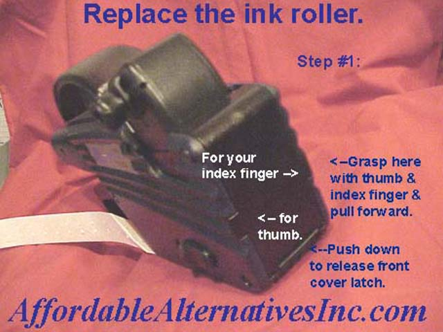 Replace XLPro Ink Roller - Step #4