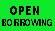 OPEN BORROWING label roll(s) .39
